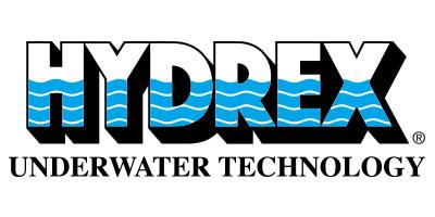 Logo Hydrex (riparazioni subacquee)