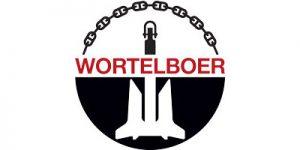 Logo Wortelboer (ancore e catene)